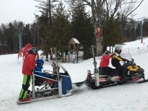 skidoo owls head adaptive sports foundation