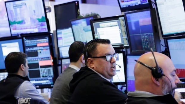 Stock markets in Toronto and New York were solidly higher as crude oil jumped by six per cent and metals prices surged.