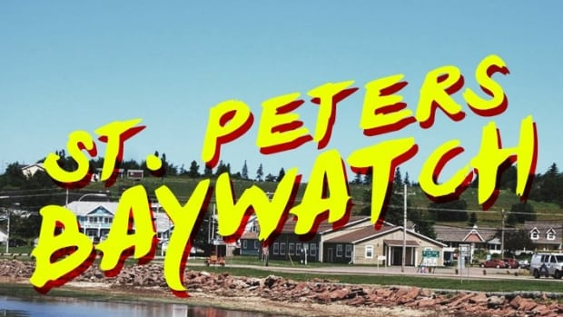 Twitter user Kris MacDonald made up a movie-poster for this P.E.I.-inspired version of Baywatch.