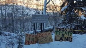 Site C protest camp