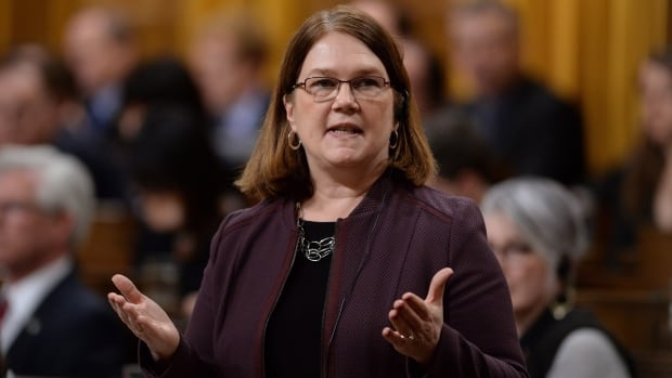 Minister of Health Jane Philpott responds to a question during question period in the House of Commons on Parliament Hill in Ottawa on Monday, Feb. 22, 2016.
