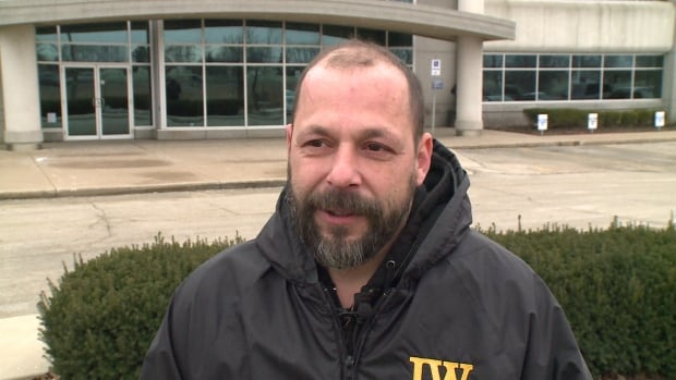 Joel Thibodeau, an official with Ontario District Council of Ironworkers Local 721 says he doesn't believe the layoffs are a result of the union's first collective agreement with CS Wind Canada