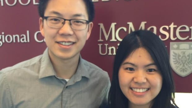 Daniel Chan and Mei Chen are students at the McMaster University medical school in Kitchener. Medical students, like Chan and Chen, are launching a new speaker series that will tackle health myths and answer questions.