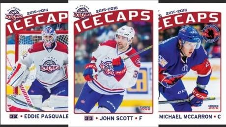 St. John's IceCaps Hockey Cards