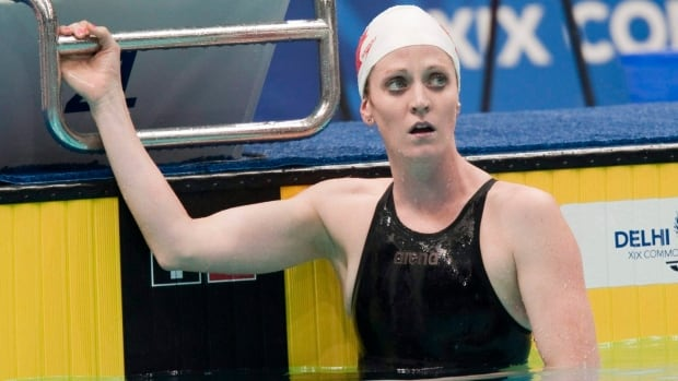 Canada's Annamay Pierse was stunned by her results at the 2010 Commonwealth Games in New Delhi, India but discovered she had contacted dengue fever which forced her retirement.