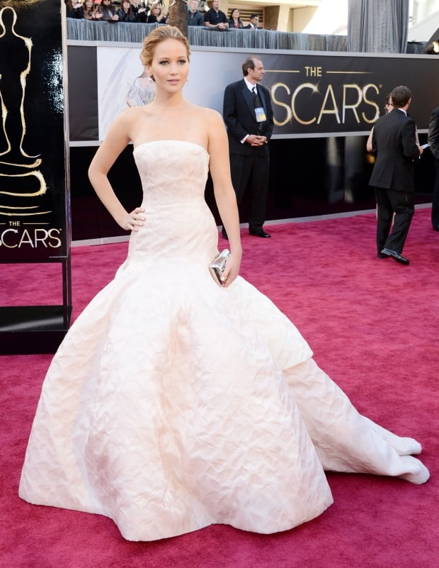 OscarsFashionHistory - Jennifer Lawrence 2013