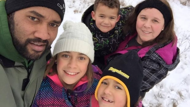 Peni Lutudromu now lives in Regina with his wife, Mikki, and three kids.