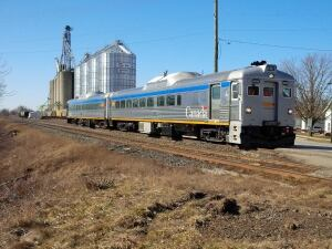 VIA Rail diesel passenger cars