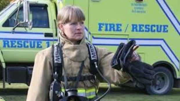 Kirsten Rudolph Firefighter