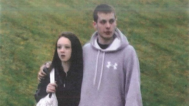 Mark Smich is seen in this police surveillance photo with his girlfriend, Marlena Meneses, that was taken in 2013 before his arrest. Smich, along with co-accused Dellen Millard, is charged with first-degree murder in the death of Tim Bosma.