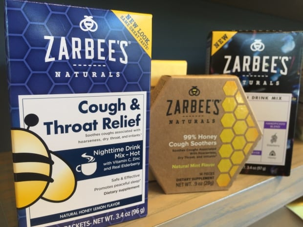 Zarabee's natural cough family products