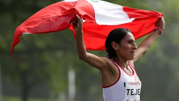 Gladys Tejeda of Peru, who won the 2015 Pan Am Games marathon gold medal, had her medal stripped and a six-month suspension confirmed by the International Amateur Athletic Federation.