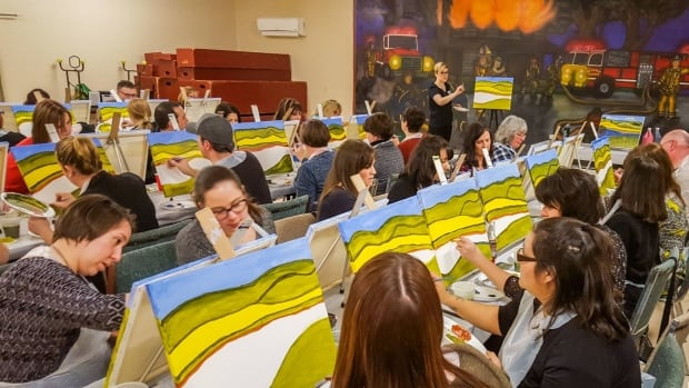 Art After Dark organizes painting events across the island.