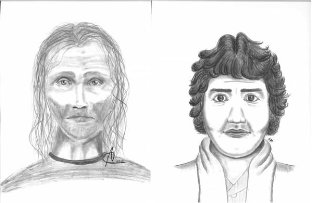 Sketches in Don and Roxanne Carlson homicide