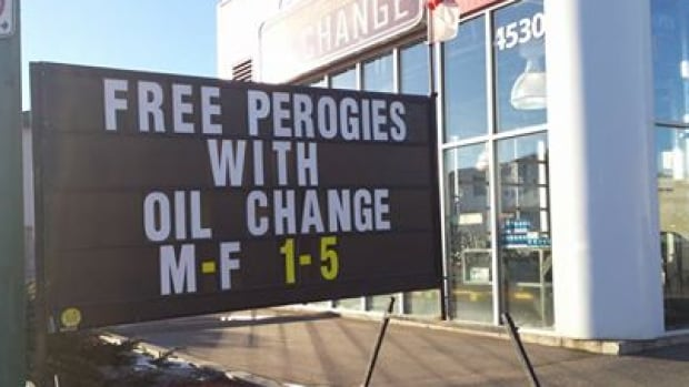 A unique offer to attract customers in Regina caught the attention of many on social media.