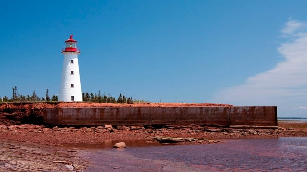 Point Prim Lighthouse is one of only a few round, brick lighthouses in Canada.
