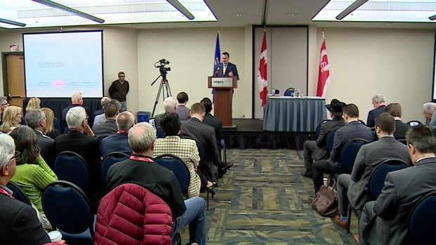 The Calgary Economic Development held a summit to allow business leaders to provide feedback to the province on policy.
