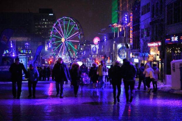 Nuit Blanche place des festivals