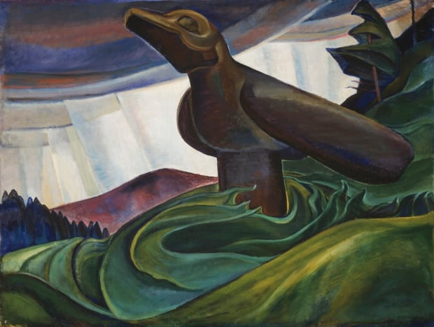 Emily Carr Big Raven