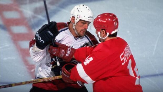 Colorado Avalanche forward Claude Lemieux was at the centre of most of the action in the teams rivalry with the Detroit Red Wings through the 1990s.