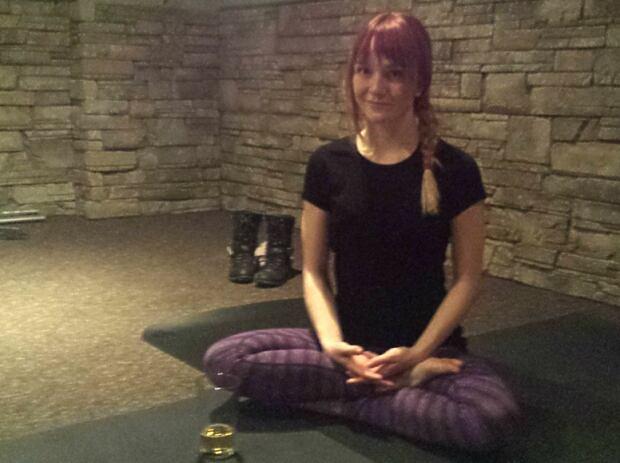 Rage Yoga instructor