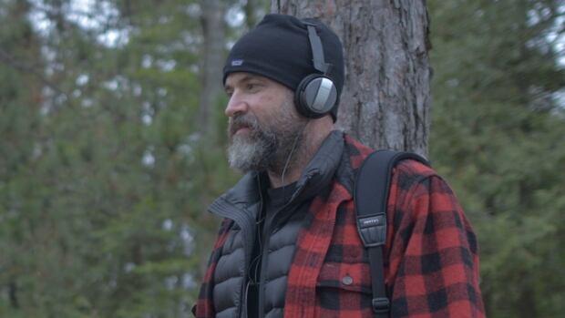 David Ridgen in the field