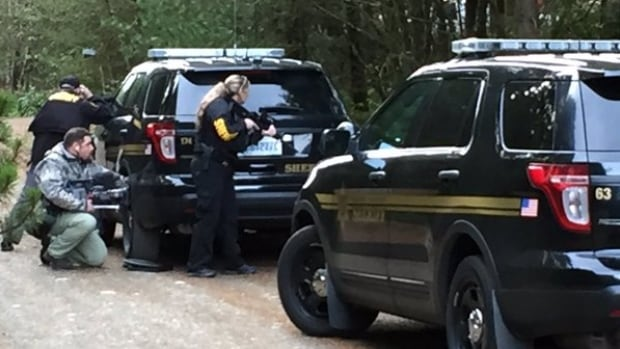 A man shot himself after calling authorities to say he had shot and killed his family near the town of Belfair, Wash., say police