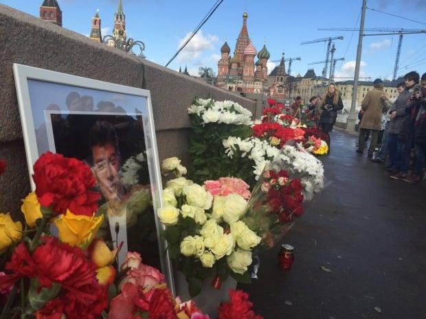 Boris Nemtsov first-year anniversary memorial