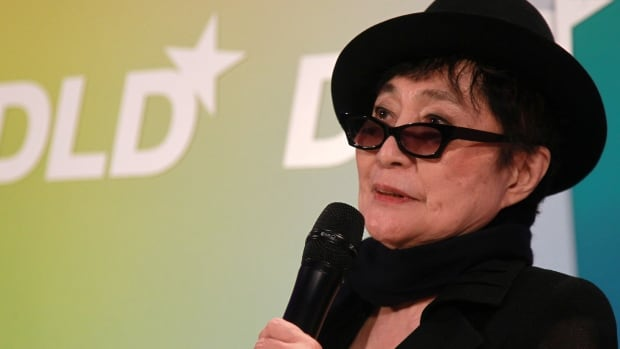 Advant-garde artist Yoko Ono was being treated in the same Manhattan hospital where her husband, ex-Beatle John Lennon, was pronounced dead after he was shot in 1980.