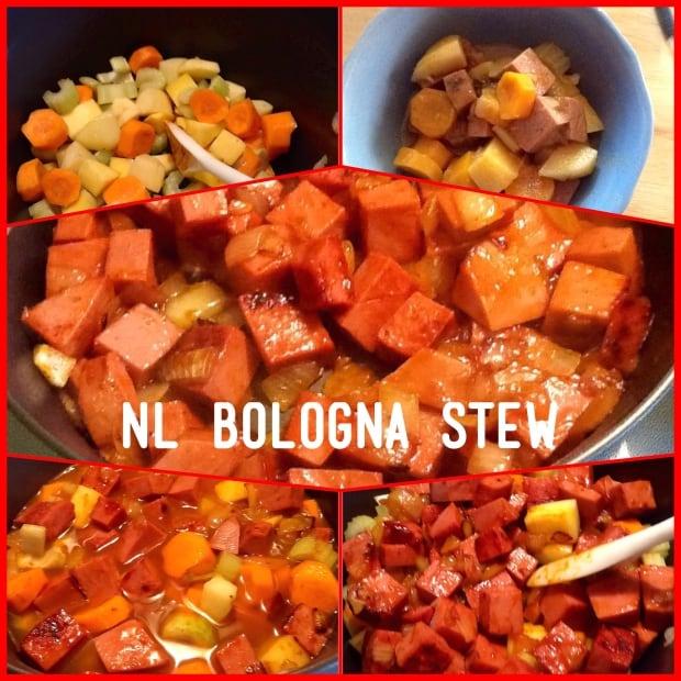 Bonita's Kitchen Bologna Stew