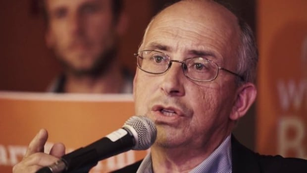 Gary Burrill, leader of the NSNDP