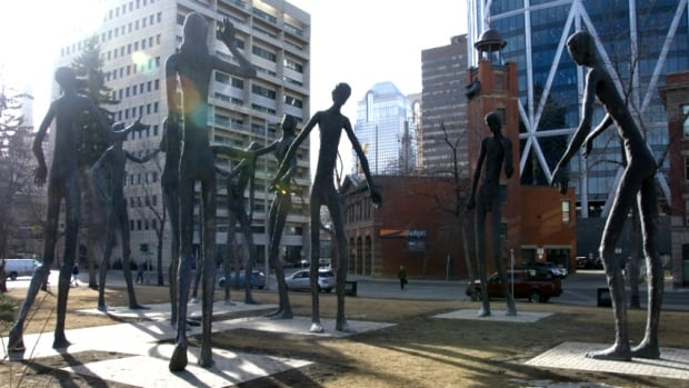 Mario Armengol sculpture, The Family of Man