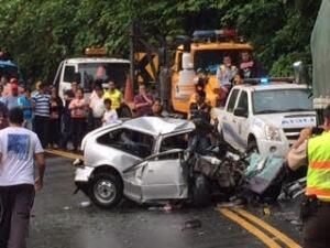 Crash in Ecuador