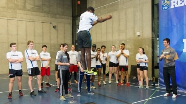 Look at that height! Great to see young athletes give it their all at the RBC Training Ground in Montreal, Canada.