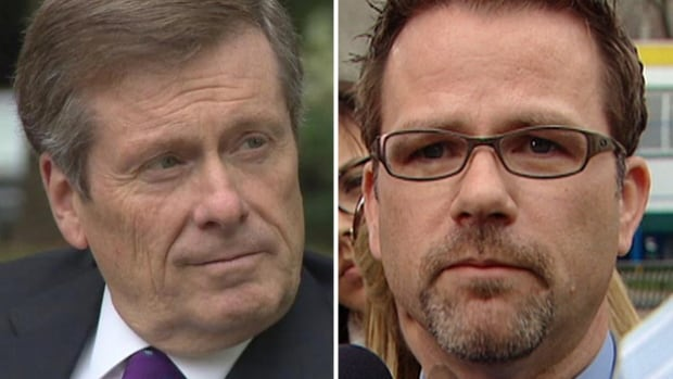 Toronto Mayor John Tory, left, and CUPE 79 president Tim Maguire both told the media they're willing to keep talking even though the union has rejected the city's latest offer.