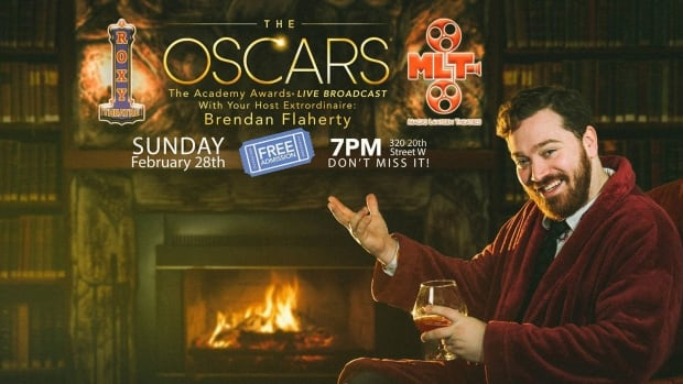 The Academy Awards are being streamed live at the Roxy Theatre on 20th Street W starting at 7 p.m. CST.