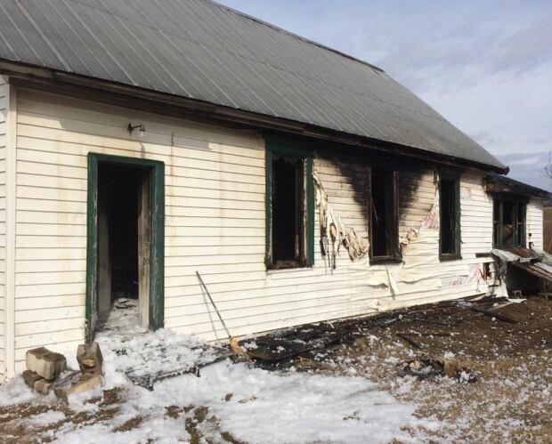 Beaver Brook schoolhouse fire