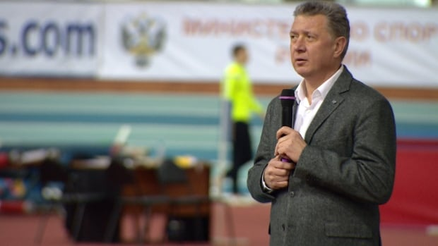 Dmitry Shlyakhtin President Russian Athletics Federation