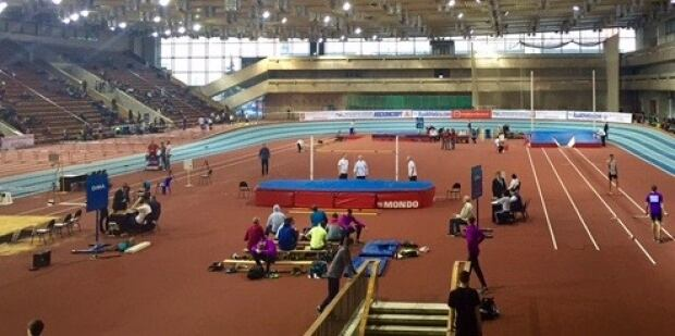 Russia's Indoor Track Championships, Moscow Red Army Centre