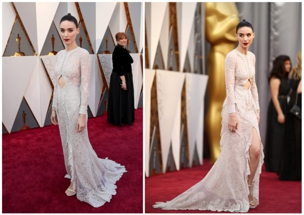 Oscars 2016 Rooney Mara red carpet by Christopher Polk for Getty