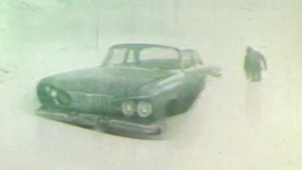 A blizzard dumped loads of snow on Winnipeg in March of 1966.