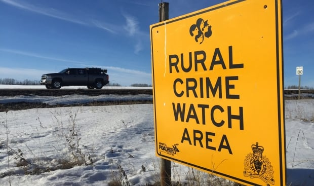Rural Crime Watch Sign