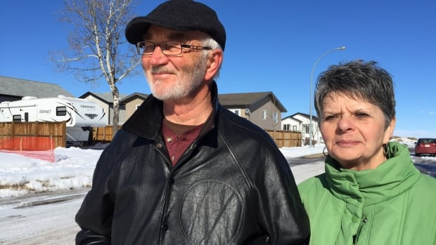 """Rural crime watch volunteers Dave More and Yvette Brideau have seen three vehicles stolen within a block radius in Benalto, Alta., over the past year. They say it's like big-city problems have hit rural Alberta.  'There's a wave that's been happening,"""" says Brideau."""
