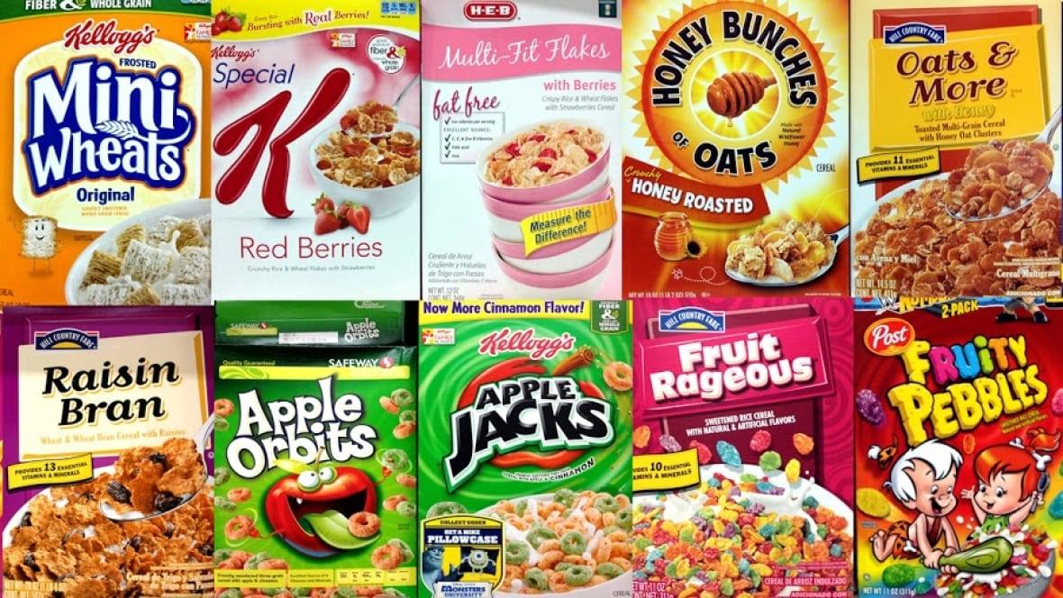 Canadian cereal brands