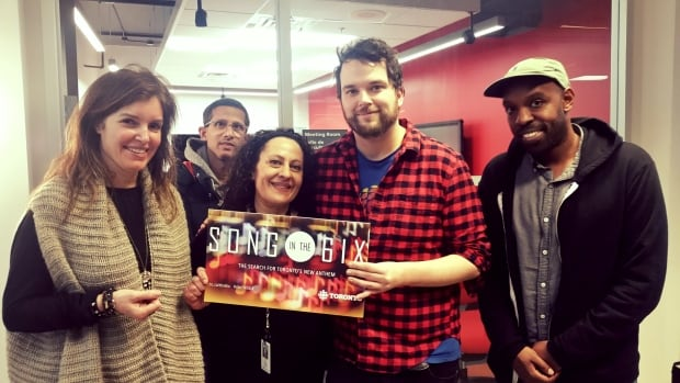CBC Toronto's Song in the 6ix judges Gill Deacon, Errol Nazareth, Sonia Arab, Tom Power and Shad will reveal their pick Tuesday.