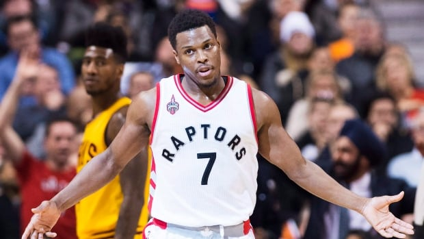 Toronto Raptors gurad Kyle Lowry was named the Eastern Conference's player of the week. Lowry led the conference in scoring (28.8 points per game) while shooting 28-for-47 (.596) from the field in Toronto's three games.