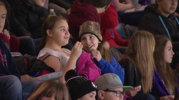 students hockey day regina pats feb 29 2016