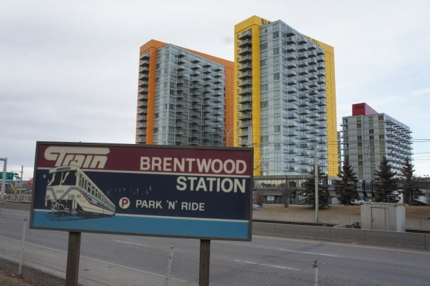 TOD at Brentwood LRT station