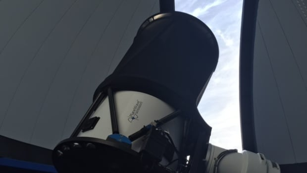 Saint Mary's University in Halifax has what it believes is the world's first Twitter-controlled observatory.