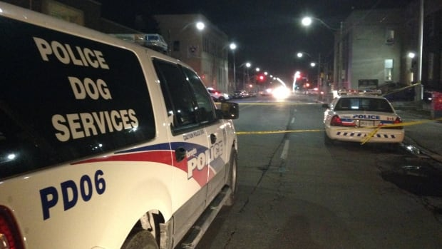 Toronto police say they are still looking for a suspect after a fatal shooting in the west end.